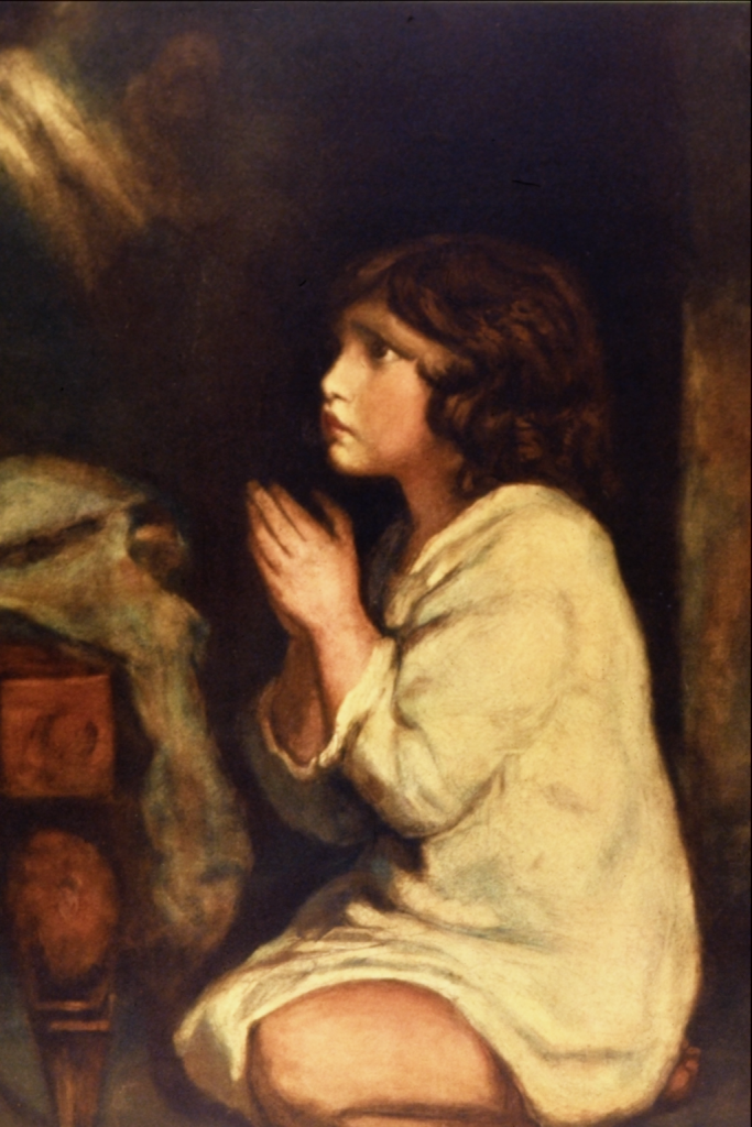 The Infant Samuel at Prayer - Sir Joshua Reynolds