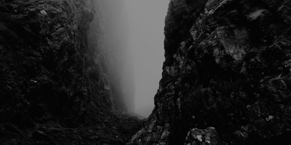 rocks-fog-path-foggy-bw-resized